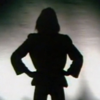 Silhouetto of a man
