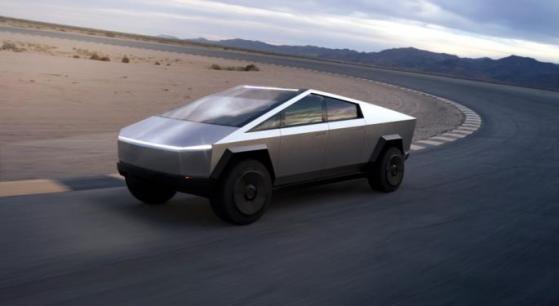 Primeras imágenes del exterior de la Cybertruck de Tesla