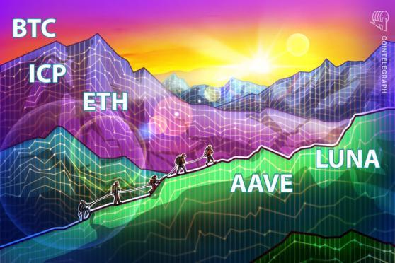 5 principales criptomonedas a observar esta semana: BTC, ETH, ICP, AAVE, LUNA