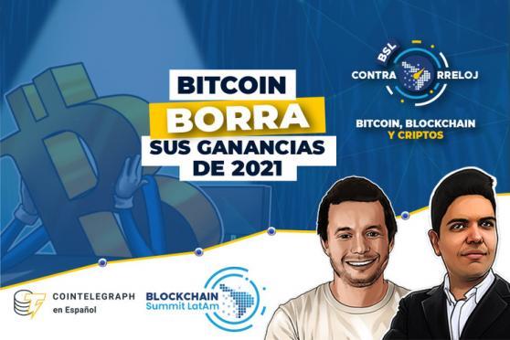 Bitcoin borrando ganancias del 2021, regulación wallets en la Unión Europea, 4ta caída dificultad de minería y mucho más. Un resumen de las criptonoticias más importantes de la semana