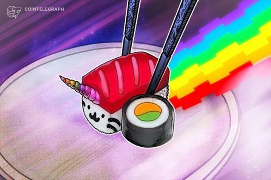SushiSwap lidera las ganancias de los tokens DEX al aumentar el precio de SUSHI un 23% en 24 horas