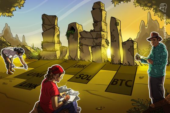 Las 5 principales criptomonedas a observar esta semana: BTC, UNI, LINK, SOL, XMR
